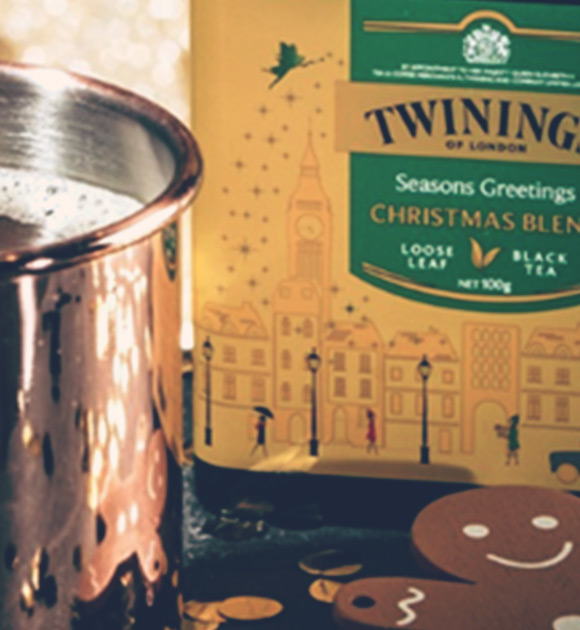 Getting Twinings' ecommerce store Christmas ready