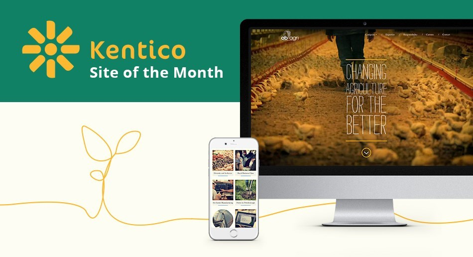 AB Agri website wins Kentico site of the moth