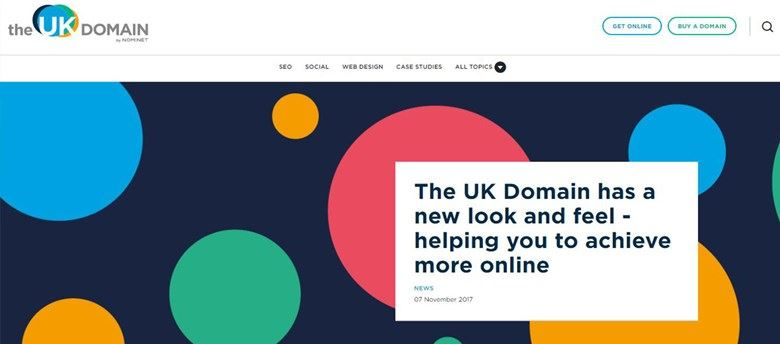 UK Domain Website Screenshot