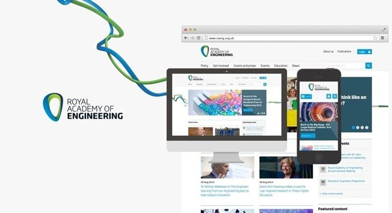 Royal Academy of Engineering's website