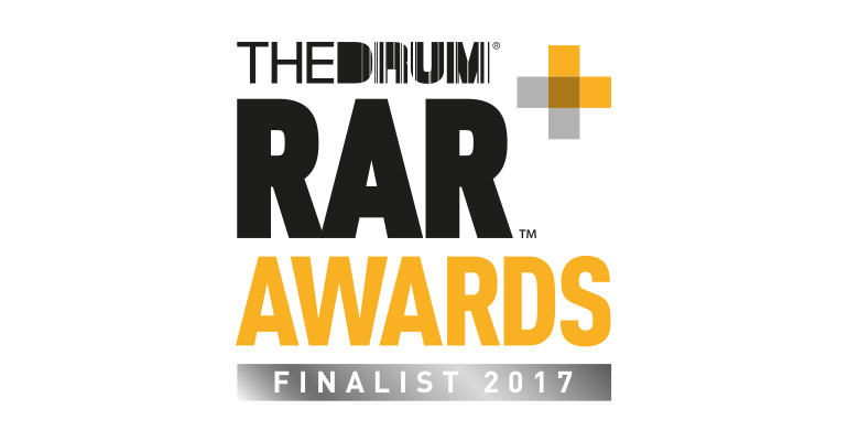RAR Digital Awards logo