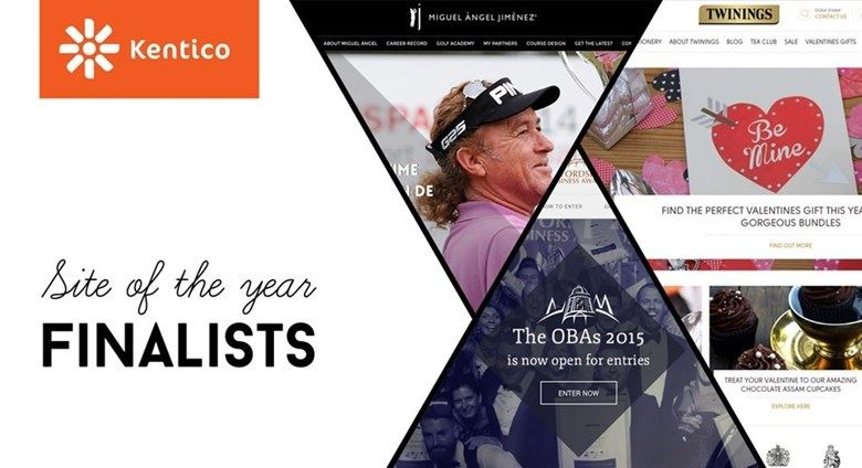 Kentico Site of the Year finalists