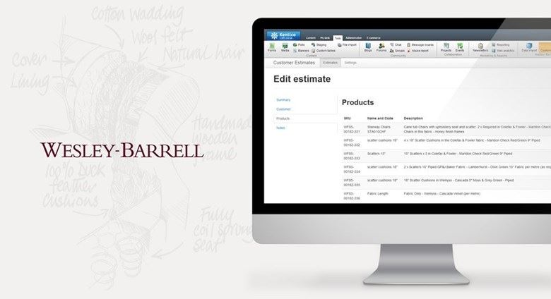 Wesley-Barrell's website