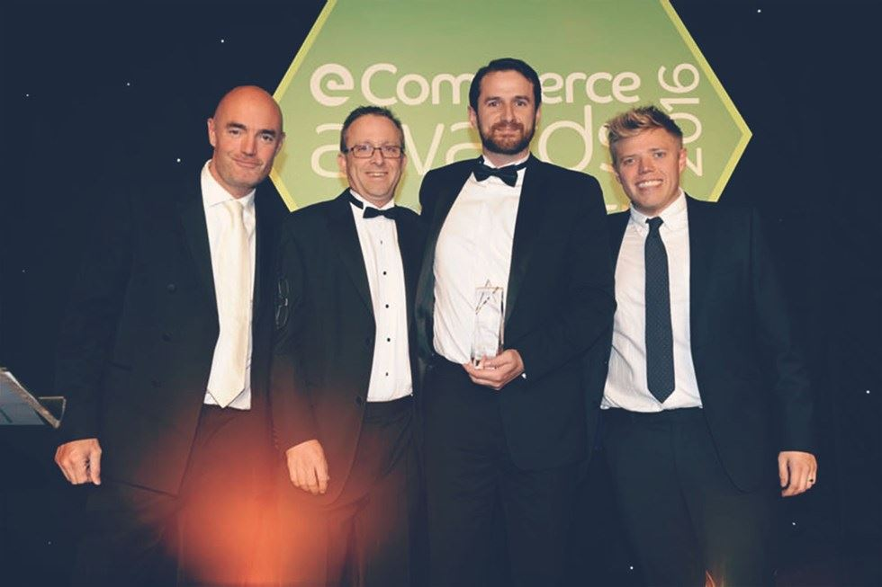 Stuart and Graeme at the Ecommerce Awards