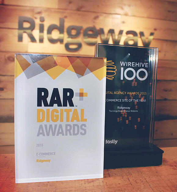 Ecommerce winners in the Recommended Agency Digital Awards, 2015