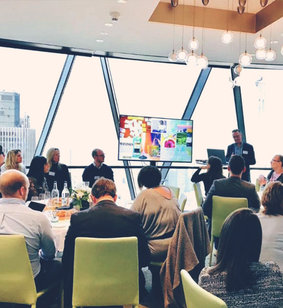Workshop event at the Gherkin