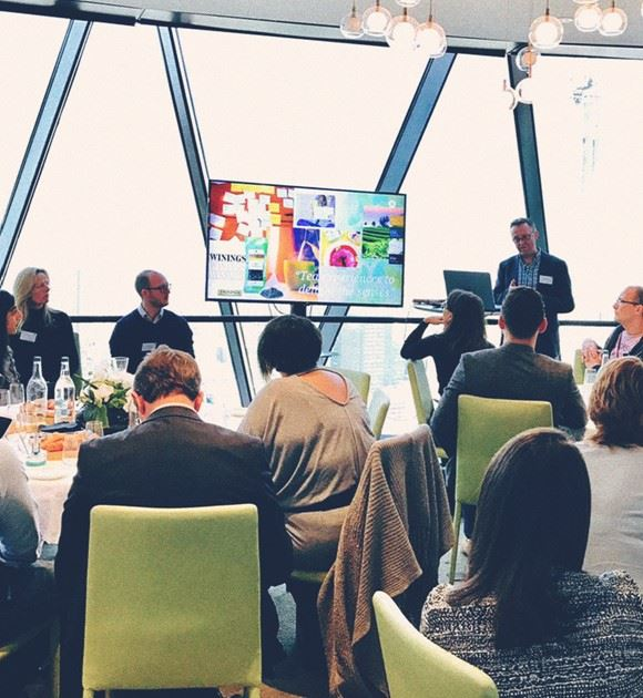 Ridgeway event at the Gherkin