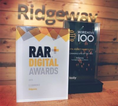 RAR and Wirehive ecommerce awards